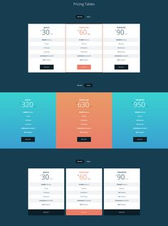 Free pricing tables with css and html templates included for free download is here for your web hosting website. Also get premium high quality pricing templates