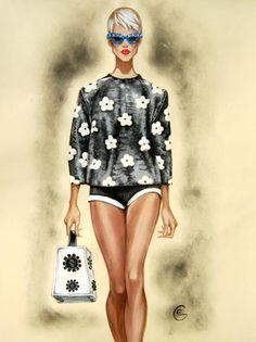 Fashion Illustrations by Eka Gotsiridze