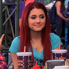 Image about ariana grande in Cat Valentine icons by ♡ Ariana Grande Facts, Ariana Grande Pictures, Victorious Cast, Cat Valentine Victorious, Ariana Instagram, Bright Red Hair, Sam And Cat, Big Sean, Dangerous Woman