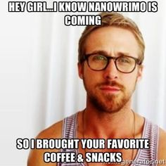 #heygirl #nanowrimo. National Novel Writing Month is November! Join us for write-ins - a no pressure writing group where all you have to do is write! Tuesday evenings at 6pm November 5, 12, 19, 26