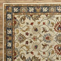 Sansa Oriental Wool Hand-Tufted Area Rug