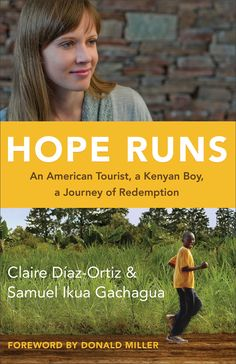 What a Powerful story of Samuel's journey and how the Lord brought two American's to Africa how they developed a running program that changed everyone's lives! WOW! Check it out http://www.psalm516.blogspot.com/2014/04/hope-runs-by-claire-diaz-ortiz-and.html