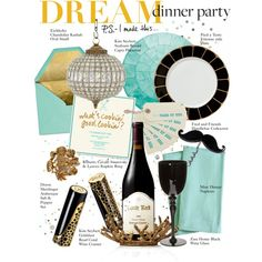 """""""Dream Dinner Party"""" by houseofhauteness on Polyvore"""