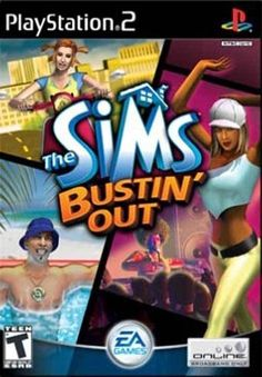 Sims Bustin' Out - PS2 Game