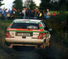 Alessandro Fiorio - Luigi Pirollo 37th 1000 Lakes Rally 1987 (Lancia Delta HF 4WD)