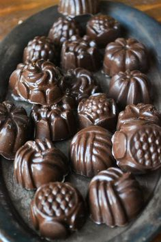 Meyer Lemon Filled Chocolates _ On the Chocoley site you will find the melting chocolate, the molds, & even flavor extracts to make an endless variety of candies in your own special favorite flavors!