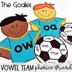 A variety of Long O Vowel Teams oa ow phonics activities and games that create engagement through interactive, hands on, and fun ways to practice oa ow words and spelling pattern. Vowel Activities, Word Work Activities, Jolly Phonics, Spelling Activities, Teaching Phonics, Phonics Activities, Kindergarten Activities, Phonics Worksheets, Teaching Resources