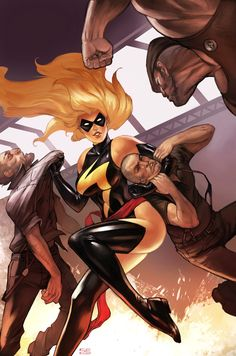Ms. Marvel to Be in AVENGERS: AGE OF ULTRON