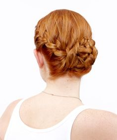 The Side French Braid Bun's a fun hairstyle that'll get you awed at in Atlanta!
