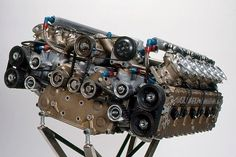 Subaru flat 12 cyl. Built for F1 before they banned it.