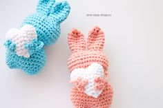 Мастер-класс: Пасхальный кролик (игрушка) крючком