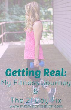 My Fitness Journey: 21 Day Fix