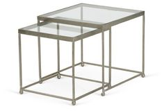 Piers Nesting Tables, Set of 2