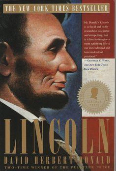 Lincoln by David Herbert Donald (1996, Paperback) #Textbook