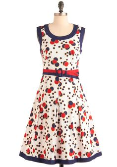 Let Fashion Ring Dress, #ModCloth