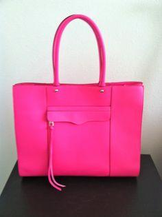 Neon pink Rebecca Minkoff MAB