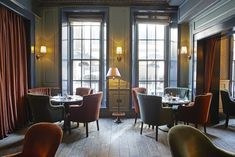 Dean Street Townhouse, London: 'a stylish place, indeed'