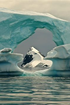 """expressions-of-nature:  """" Iceberg Frame by: David Kelly """""""