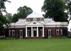 Thomas Jefferson's Monticello in Charlottesville, Virginia