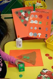 Community Helpers and Career Day: Roll a die to buy toppings for the pizza. For prekinders I would start with pennies Math Classroom, Kindergarten Math, Teaching Math, Preschool Activities, Maths, Teaching Ideas, Classroom Ideas, Teaching Money, Kids Math