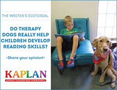We have ourselves a furry situation! Should therapy dogs be in the classroom? Read our latest Writers's Editorial and share your opinion: http://buff.ly/1F2GhC1