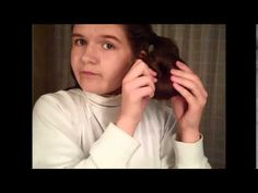 Knitting Patterns Funny Princess Leia Bun Tutorial Ways) Princess Leia Buns, Princess Leia Cosplay, Star Wars Princess Leia, Party Hairstyles For Girls, Easy Bun Hairstyles, Funny Princess, Leia Star Wars, Toddler Hair, Hair Pictures