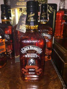 Jack Daniels 150th birthday cememorative bottle of Old #7