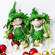 Two Elf sisters decorating Christmas tree :-) Crochet pattern 064 Doll Marie the Christmas tree from @littleowlshut Dolls crocheted by @irinara.essn -------------------------------------------------- Sign your LOH photos with #LittleOwlsHut tag and the best ones will be placed on our page. #crochet #pattern #crochetpattern #crochetlove #crocheting #crochetfun #welovecrochet #crochetproject #crochetaddict #crochetfun #amigurumi #crochetersofinstagram #ilovecrochet #crochettoy #instacrochet…