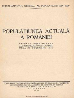 I'm reading 1930 Recensamant Cifre Preliminare Populatia on Scribd