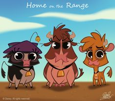 50 Chibis Disney : Home Range by David Gilson