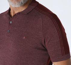 Tricot Polo Stripes Detail - Aramis - Aramis Polo, Mens Tees, Men Sweater, Stripes, Sweaters, T Shirt, Fashion, Tricot, Supreme T Shirt