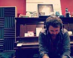 BK in the studio | Flickr - Photo Sharing!    Brandon Kirkley and the Firecrackers  BKTF  BKTF.net
