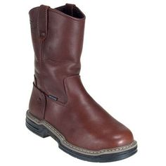 Wolverine Boots Men's 2359 Internal Met-Guard Multishox Wellington Boo