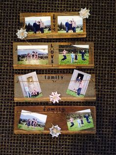 Rustic Barn Wood picture frames