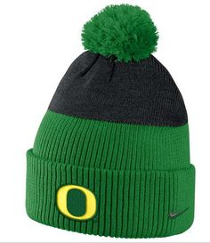 143772e80 Oregon Ducks Nike New Day Mens Knit Hat