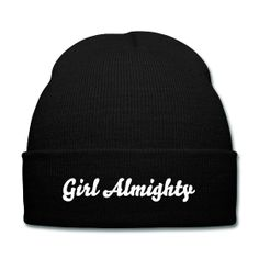 One Direction - Girl Almighty Beanie - design also available on shirts, sweaters, tank tops, coffee mugs, tote bags, coasters etc