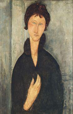La Femme aux yeux bleus