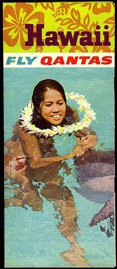 travel brochure on Hawaii Bora Bora, Tahiti, Hawaii Vintage, Vintage Tiki, Vintage Hawaiian, Vintage Beach Posters, Vintage Postcards, Vintage Airline, Australian Vintage