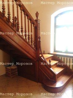 Купить ЛЕСТНИЦА НА ЗАКАЗ - лестница дубовая, лестница из дуба, лестница из дерева, деревянная лестница