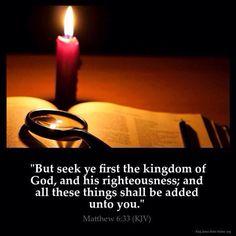 マタイ6:33ーだから、神の国とその義とをまず第一に求めなさい。そうすれば、それに加えて、これらのものはすべて与えられます。