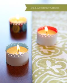 Decorative Candles craft-projects