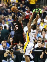 Eastern Conference Finals: Game 3 | (1) Miami #Heat over (3) Indiana #Pacers 114-96. Miami leads series 2-1.