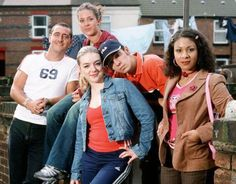 A young Sheridan Smith cut her teeth as Janet in the BBC sitcom Two Pints of Lager and A Packet of Crisps,