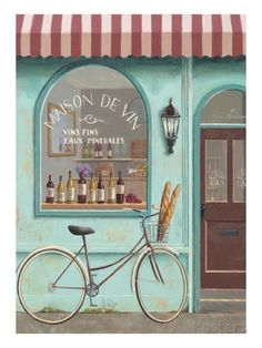 Wine Store Errand Giclee Print by Marco Fabiano at AllPosters.com