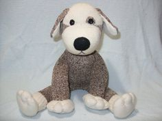 sock puppy by LaliDolls on etsy