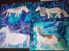 Výsledek obrázku pro už martin na bílém koni text Winter Kids, Martini, Mythology, Art For Kids, Artwork, How To Make, Christmas, Advent, Horses
