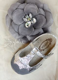 #silver #kids #shoes