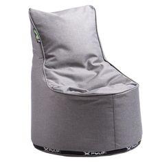 X-Pouf børnestol - X-kidschair er en lækker udendørs stol som skaber sit eget lounge miljø. Lavet i et lækkert vandtæt og modstandsdygtigt materiale. PU Coated Polyester I dette bløde meleret materiale er den velegnet både ude og inde, anbefales under overdækket teresser under kraftig regn. Kan også anbefales til stuen eller børneværelset  Xpouf designer: Alessandro Comerlati, 1970, Verona,