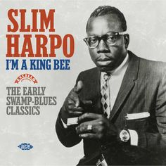 """James Isaac Moore (January 11, 1924 – January 31, 1970), known as Slim Harpo, was an American blues musician, a leading exponent of the swamp blues style, and """"one of the most commercially successful blues artists of his day"""". His most successful and influential recordings included """"I'm a King Bee"""" (1957), """"Rainin' In My Heart"""" (1961), and """"Baby Scratch My Back"""" (1966) which reached no.1 on the R&B chart and no.16 on the US pop chart. A master of the blues harmonica, his stage name was…"""