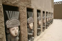 Chan Chan, Peru. Chan Chan was constructed by the Chimor (the kingdom of the Chimú).